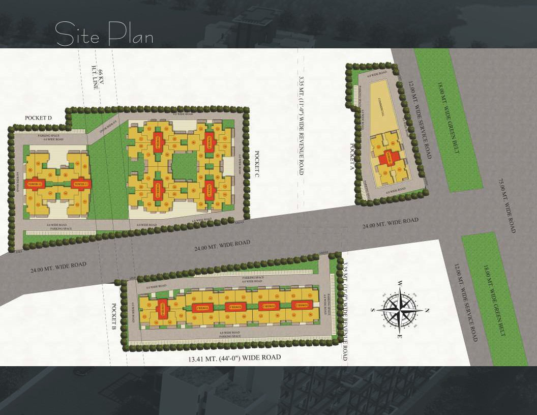 Maxworth Aashray site plan