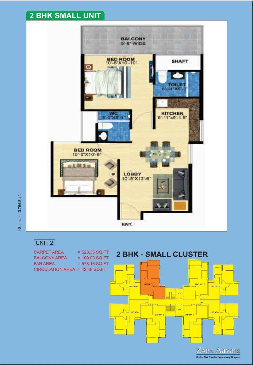 Zara Aavaas Affordable Housing Sector 104 Gurgaon Huda