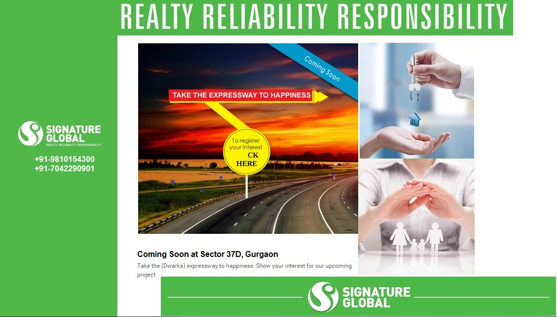 Signature Global Affordable Homes Sector 37d Gurgaon