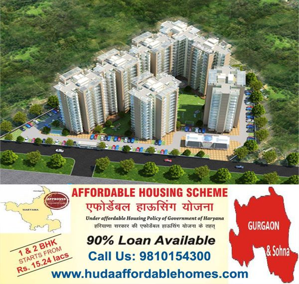 huda affordable housing gurugram haryana